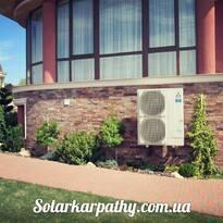 Тепловой насос (31,5 кВт), г. Ужгород, отопление и ГВС