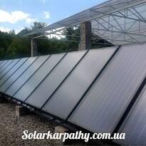 Гелиосистема (14 солнечных коллектора), с. Верхняя Вызница, Мукачевский р-н