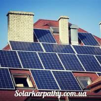 5 кВт (20 солнечных батарей), г.Виноградов