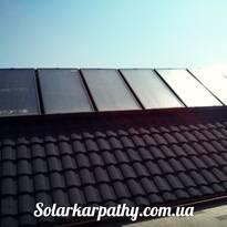 7 солнечных коллектров, тепловой насос 31,5 кВт, с.Золотарево