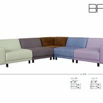 Мягкая мебель Agio 2017, AEK Design
