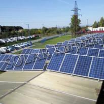 30 кВт (120 панелей), Jabil Circui, с.Розовка, Ужгородский р-н