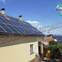 """Сетевая солнечная электростанция мощностью 20 кВт (56 панелей) под """"Зеленый"""" тариф, с. Барбово, Мукачевский р-н"""