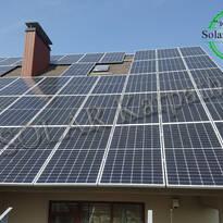 """Сетевая солнечная электростанция мощностью  30 кВт (85 панелей) под """"Зеленый"""" тариф, г. Ужгород"""