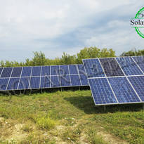 Наземная сетевая СЭС мощностью 30 кВт (94 панели), «Зеленый» тариф, с. Розовка, Ужгородский р-н