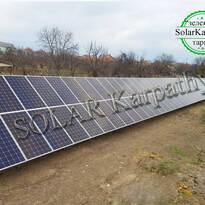 """30 кВт (88 панелей), """"Зеленый"""" тариф, г.Берегово"""