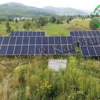 """СЭС мощностью 30 кВт (84 панели), """"Зеленый"""" тариф, с. Драгово, Хустский р-н"""
