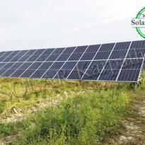 Наземная солнечная электростанция, мощность — 30 кВт (84 панели), «Зеленый» тариф, с. Малая Добронь, Ужгородский р-н