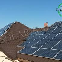 """Солнечная электростанция мощностью 13 кВт (52 панели) под """"Зеленый"""" тариф, г. Мукачево"""