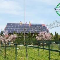 Сетевая солнечная электростанция мощностью 30 кВт (96 панелей) под «Зеленый» тариф, с. Минай, Ужгородский р-н