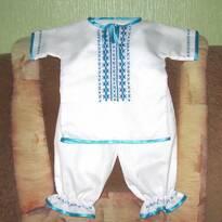 Вишиванки для немовлят