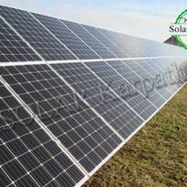 """Наземная сетевая солнечная электростанция мощностью 30 кВт (104 панели), система отопления и ГВС, """"Зеленый"""" тариф,с. Кинчеш, Ужгородский р-н"""
