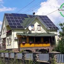 """СЭС мощностью 10 кВт (32 панели), система для отопления и нагрева воды, """"Зеленый"""" тариф, с. Сторожница, Ужгородский р-н"""