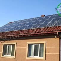 "СЭС мощностью 20 кВт (85 панелей), ""Зеленый"" тариф, с. Липетская Поляна, Хустский р-н"