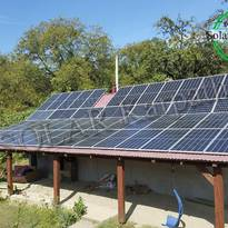 Сетевая СЭС мощностью 30 кВт (84 панели), «Зеленый» тариф, с. Вышоватый, Тячевский р-н