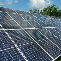 """Сетевая солнечная электростанция мощностью 30 кВт (96 панелей), """"Зеленый"""" тариф, с. Минай, Ужгородский р-н"""