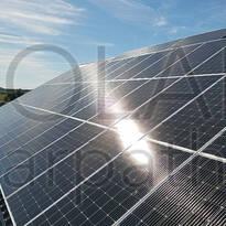 Сетевая солнечная электростанция мощностью 30 кВт, «Зеленый» тариф, с. Барвинок, Ужгородский р-он
