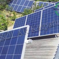 Сетевая солнечная электростанция мощностью 10 кВт (46 панелей), «Зеленый» тариф, г. Ужгород