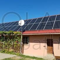 Сетевая солнечная электростанция мощностью 30 кВт (68 панелей), «Зеленый» тариф, с. Сторожница, Ужгородский р-н