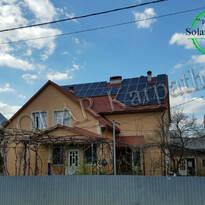 """Сетевая солнечная электростанция мощностью 30 кВт (88 панелей), """"Зеленый"""" тариф, пгт. Межгорье, Межгорский р-н"""