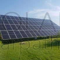 Наземная сетевая солнечная электростанция на 30 кВт, «Зеленый» тариф, г. Мукачево