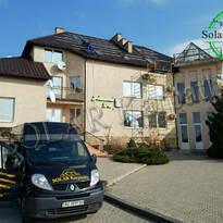 Сетевая солнечная электростанция мощностью 10 кВт (26 панелей), г. Ужгород