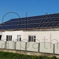 Сетевая солнечная электростанция на 20 кВт под «Зеленый» тариф, с. Гать, Береговский р-н