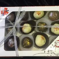 Шоколадні цукерки з сиром