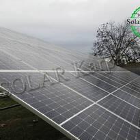 """Наземная сетевая солнечная электростанция мощностью 50 кВт (136 панелей),  """"Зеленый"""" тариф,  г. Берегово"""