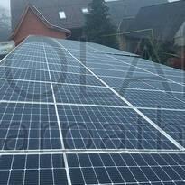 Сетевая солнечная электростанция на 30 кВт под «Зеленый» тариф, с. Вышково, Хустский р-н
