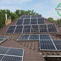 Сетевая СЭС мощностью 30 кВт (112 панелей), «Зеленый» тариф, г. Берегово