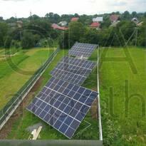 Наземная сетевая СЭС мощностью 30 кВт (86 панелей), «Зеленый» тариф, с. Сторожница, Ужгородский р-н