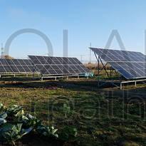 Наземная сетевая СЭС мощностью 30 кВт (86 панелей), «Зеленый» тариф, с. Ракошино, Мукачевский р-н