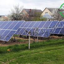 """Наземная солнечная электростанция мощностью 10 кВт (42 панели), """"Зеленый"""" тариф, с. Холмок, Ужгородский р-н"""
