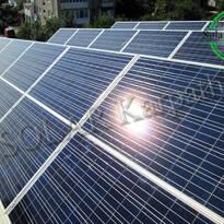 """СЭС мощностью 10 кВт (40 панелей), """"Зеленый"""" тариф, г. Виноградов"""