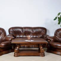 Кожаные диваны и кресла HUP (Польша)