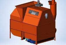 New - GAF-100 grain cleaning machine is already in production!