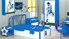 Футбольні ворота в офісі?! Готуємося до Євро-2012!