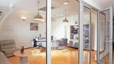 Скляна протипожежна перегородка створює безпеку в приміщенні!