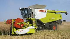 Збір урожаю - тепер це легко і просто із зернозбиральними комбайнами CLAAS