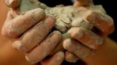 Блакитна кембрійська глина - подарунок природи з глибини століть