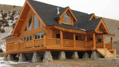 Houses made of wood! Naturalness will support your health
