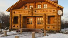 Wooden houses from glulam: everything, what you wanted to know about them