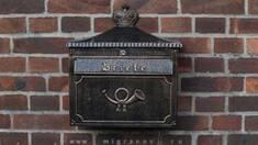 Металеві поштові скриньки — листування ще живе