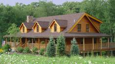 Eco-house without efforts: where to order the construction of a country house from timber