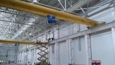 Кран балка підвісна та опорна – універсальне обладнання для успішного виробництва