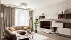 Облаштування вітальні устилі модерн та хай тек: особливості вибору меблів!
