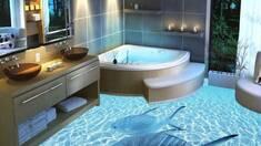 Наливні підлоги 3d: оригінальний та цікавий дизайн за Вашими побажаннями!