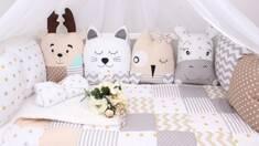 Оригінальні бортики в дитяче ліжечко: чи потрібні вони?