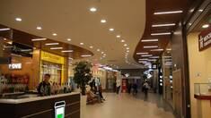 Общие рекомендации по освещению различных зон торговых комплексов и магазинов